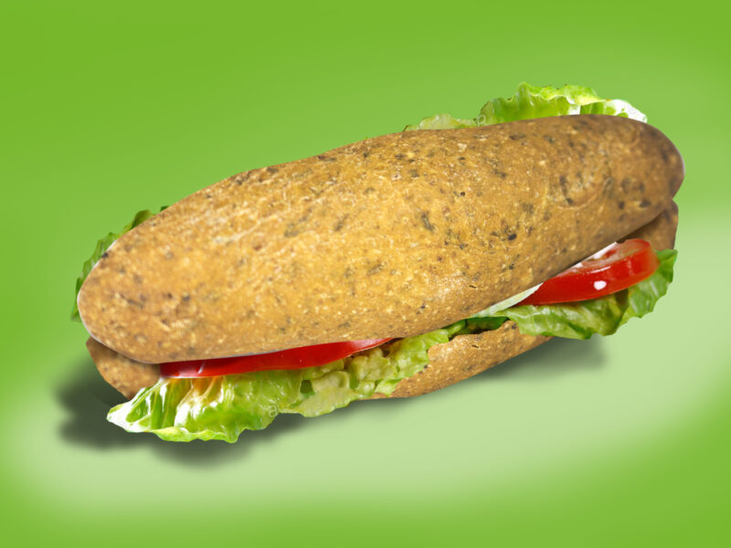 Dieta y pan de fibra verde